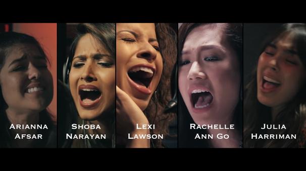 Watch a Quintet of Hamilton Elizas Sing Lin-Manuel Miranda's First Version of 'Burn'