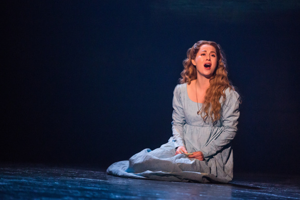 Mary Kate Moore as Fantine in Les Miserables