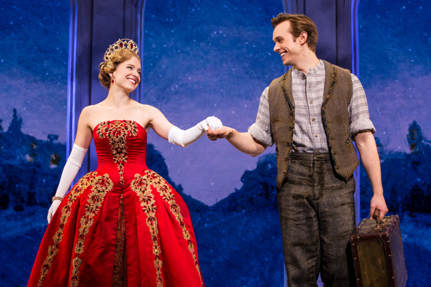 Everything to Win! Check Out Exclusive Production Photos of Zach Adkins in Anastasia
