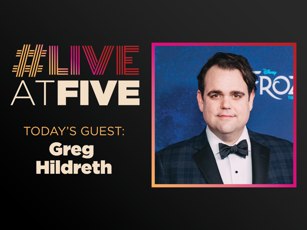 Broadway.com #LiveatFive with Greg Hildreth of Frozen