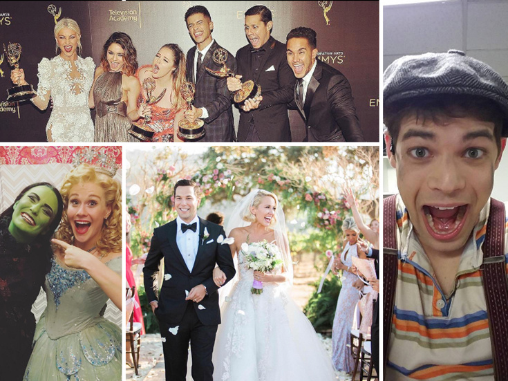 Skylar Astin & Anna Camp Tie The Knot, The Grease: Live's