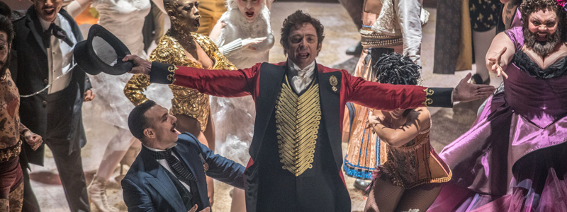 hugh jackman greatest showman stars to perform live theatrical commercial during a christmas story live broadway buzz broadwaycom