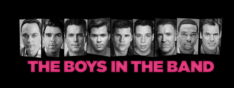 Image result for boys in the band images broadway