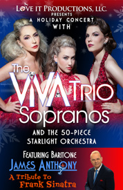 Holiday Concert with the Voices of ViVA Trio Tickets