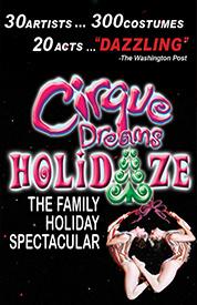Cirque Dreams Holidaze Tickets