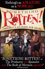 Something Rotten! Tickets