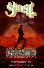 Poster for Ghost: A Pale Tour Named Death