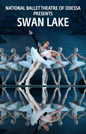 Poster for National Ballet Theatre of Odessa Presents Swan Lake