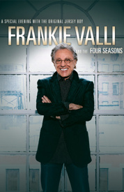 Poster for Frankie Valli & the Four Seasons