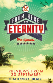 Poster for From Here To Eternity