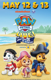 Poster for Paw Patrol Live: The Great Pirate Adventure
