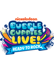 "Poster for  Bubble Guppies Live: ""Ready to Rock"""