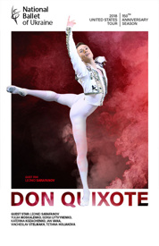 Poster for The National Ballet of the Ukraine Presents Don Quixote