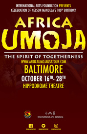 "Poster for Africa Umoja – ""The Spirit of Unity Tour"""