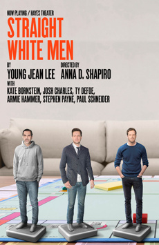Straight White Men, The Hayes Theater, NYC Show Poster