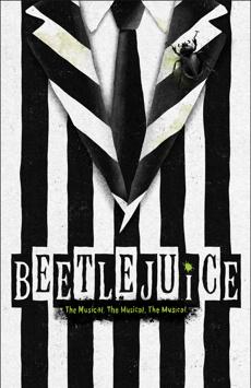 Beetlejuice, Winter Garden Theatre, NYC Show Poster
