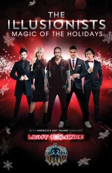The Illusionists—Magic of the Holidays, Marquis Theatre, NYC Show Poster