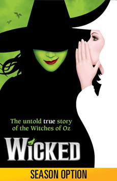 Wicked,, NYC Show Poster