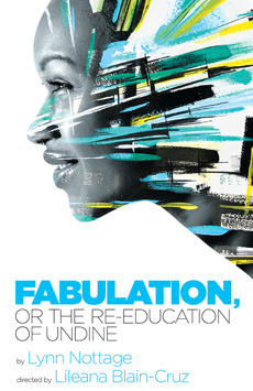 Fabulation, or The Re-Education of Undine, Romulus Linney Courtyard Theatre at The Signature Center, NYC Show Poster