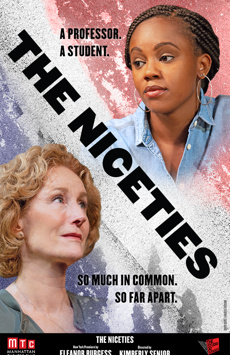 The Niceties, Manhattan Theatre Club Stage II, NYC Show Poster