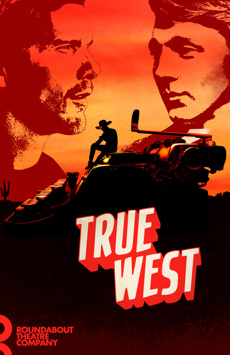 True West, American Airlines Theatre, NYC Show Poster