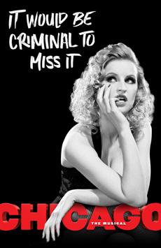 Chicago, Ambassador Theatre, NYC Show Poster