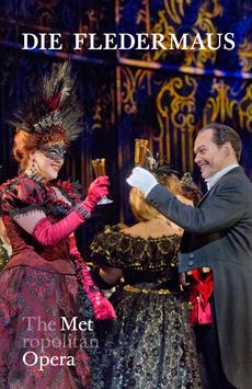 Metropolitan Opera: Die Fledermaus,, NYC Show Poster