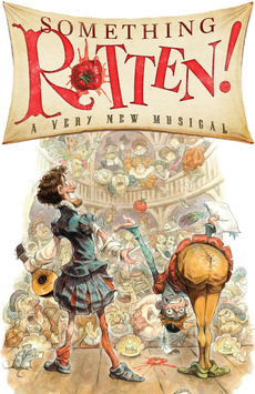 Something Rotten!, St. James Theatre, NYC Show Poster