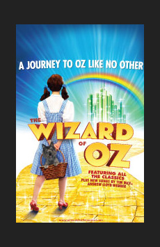 The Wizard of Oz,, NYC Show Poster