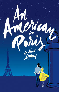 An American in Paris,, NYC Show Poster