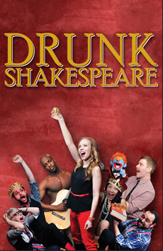 Drunk Shakespeare, The Lounge, NYC Show Poster