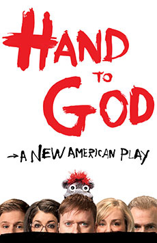 Hand to God, Booth Theatre, NYC Show Poster