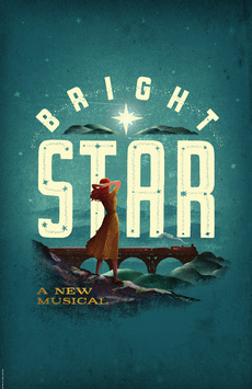Bright Star, Cort Theatre, NYC Show Poster
