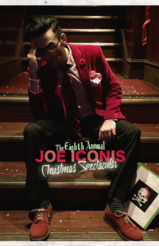 The 9th Annual Joe Iconis Christmas Spectacular, Feinstein's/54 Below, NYC Show Poster