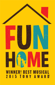 Fun Home, Circle In The Square Theatre, NYC Show Poster