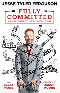 Fully Committed, Lyceum Theatre, NYC Show Poster