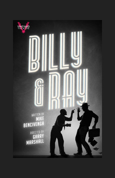Billy & Ray, Vineyard Theatre, NYC Show Poster