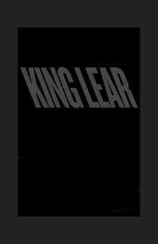 King Lear,, NYC Show Poster