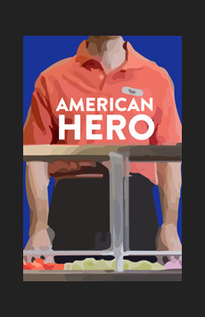American Hero, WP Theater, NYC Show Poster