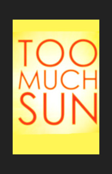 Too Much Sun, Vineyard Theatre, NYC Show Poster