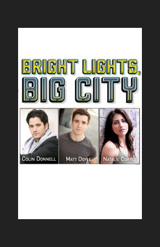 Bright Lights, Big City in Concert,, NYC Show Poster