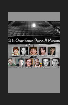 If It Only Even Runs a Minute, Feinstein's/54 Below, NYC Show Poster