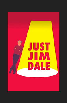 Just Jim Dale, Laura Pels Theatre, NYC Show Poster