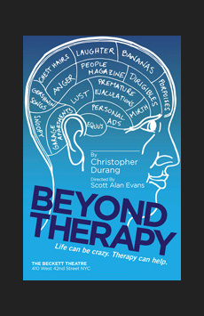 Beyond Therapy, The Beckett Theatre (Theatre Row), NYC Show Poster