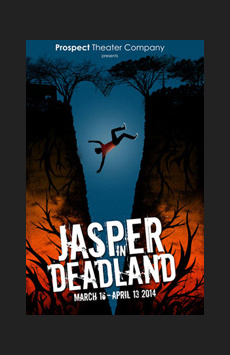 Jasper in Deadland, West End Theatre at The Church of St. Paul and St. Andrew, NYC Show Poster