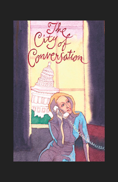 The City of Conversation, Mitzi E. Newhouse Theater, NYC Show Poster