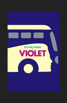 Violet, American Airlines Theatre, NYC Show Poster