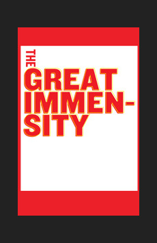 The Great Immensity, Joseph Papp Public Theater/Martinson Theater, NYC Show Poster