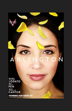 Arlington, Vineyard Theatre, NYC Show Poster