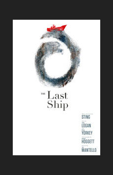 The Last Ship, Neil Simon Theatre, NYC Show Poster